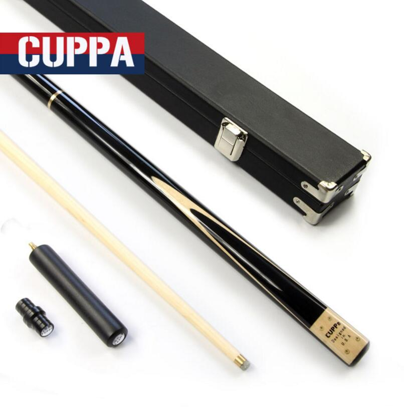 New Arrival Cuppa 3/4 Billiard Snooker Stick Kit with Snooker Cue Case Set 9.8mm Tip Maple/Ash Wood Shaft Durable Options ChinaNew Arrival Cuppa 3/4 Billiard Snooker Stick Kit with Snooker Cue Case Set 9.8mm Tip Maple/Ash Wood Shaft Durable Options China