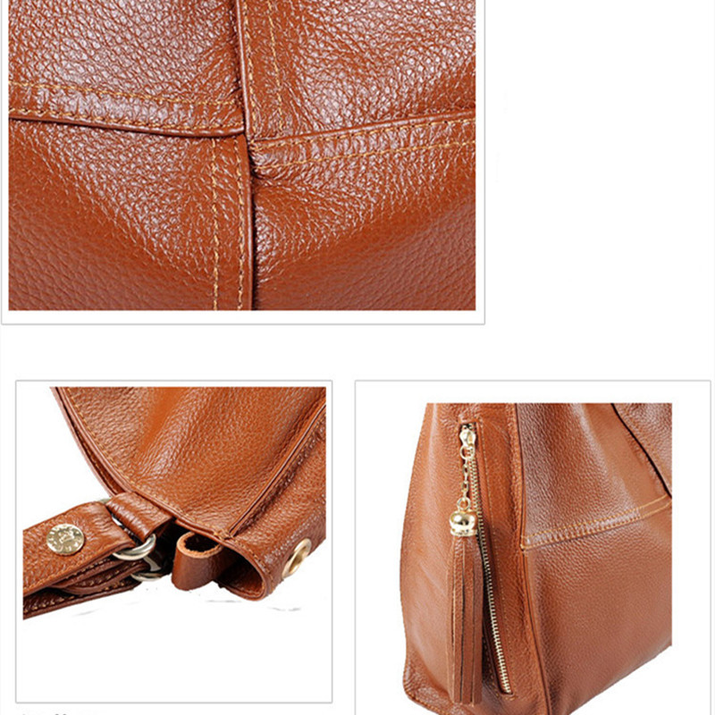 do couro genuíno para mulheres Material : Genuine Leather+synthetic Material