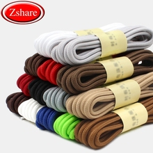 1 Pair New Round Shoelaces Top Quality Polyester Classic Off White Shoe laces Outdoor Casual Sports lace 90cm 120cm 150cm
