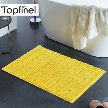 Topfinel Rug Bath Mat Nordic style Antiskid Soft Carpet Mat for Living Room Bathroom Carpet Kitchen Kids Modern Bath Rugs Mats bohemian floral antiskid bath rug