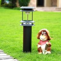 solar lawn lights outdoor path lamp waterproof yard landscape decoration villa garden light auto on/off lighting 60CM