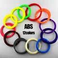Оригинал WEIYU 3D Ручка нить накаливания 1,75 мм ABS 12 различных цветов для 3d-печати ручки проволока стержень 3D линейный 60 м/120 м/180 м/240 м