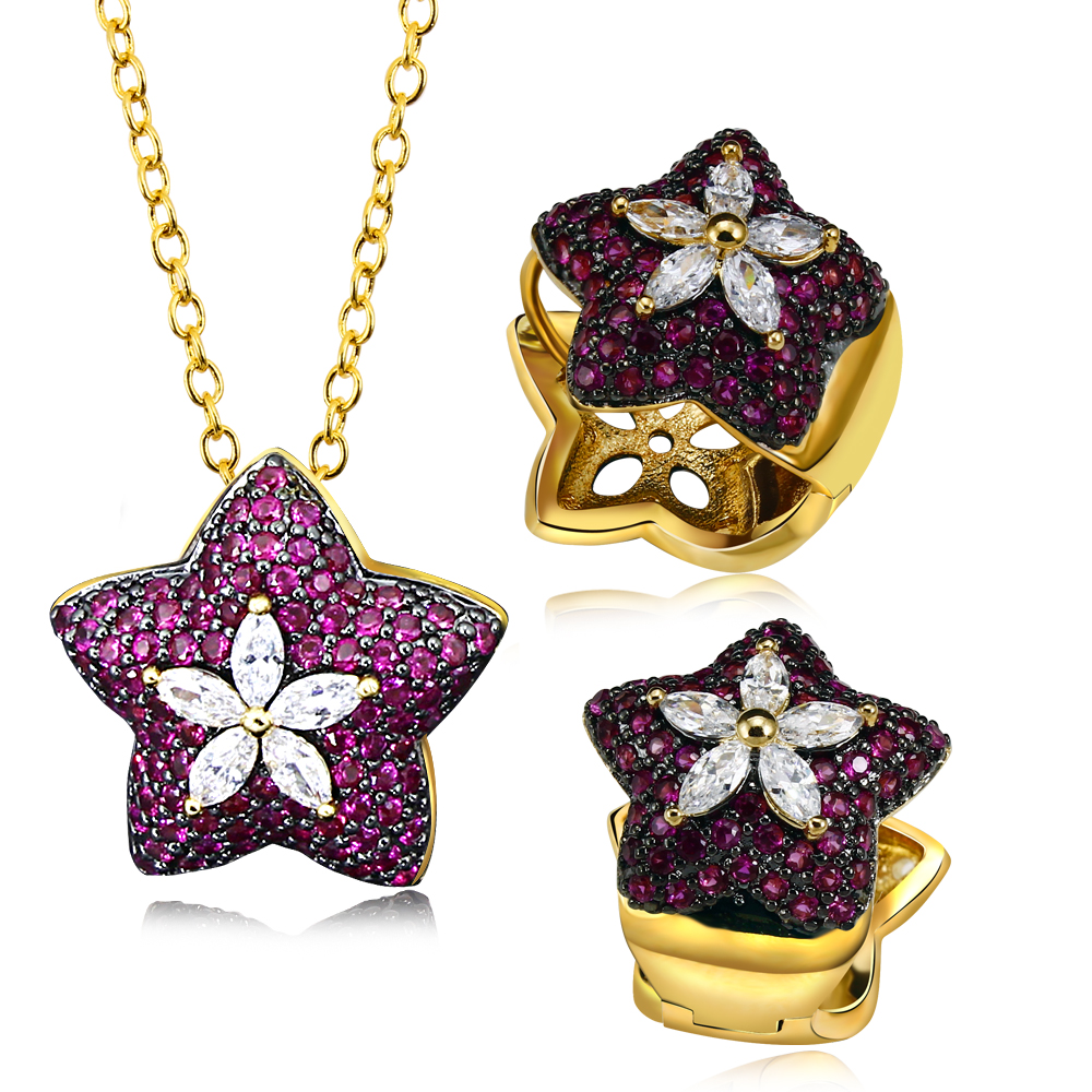zircon shape productimage gold china jewelry fashion plated photos star pendant iyhxeuuvjrko