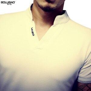 Image 3 - BOLUBAO חדש קיץ מותג חולצת פולו גברים אופנה מוצק צבע קצר שרוול פולו גברים מקרית Slim Fit גברים למעלה Tees חולצות