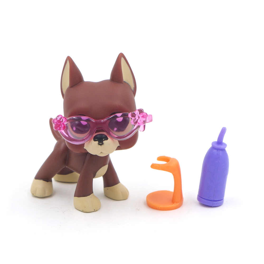 Pet Shop PS очки бутылки стул Лот Sunglasse Аутентичные аксессуары PS много детские игрушки подарок на день рождения только 3 шт.