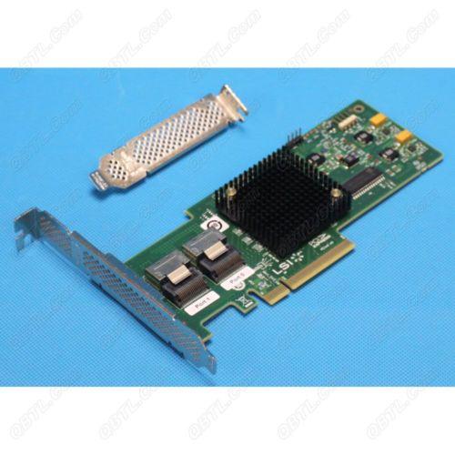 RaidStorage Avago LSI SAS 9210-8I LSISAS2008-IT Mode Original 8 port HBA JBOD SFF8087 Mini-SAS 6Gb PCI-E 2.0 X8 Controller Card