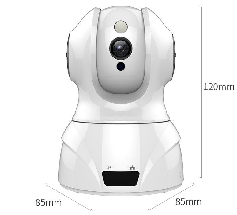 Smart WIFI PTZ FHD IP Cloud Camera with Alexa Voice Control Auto Smart Tracking Face Detection Sound Detection for Motion Alarm_F16