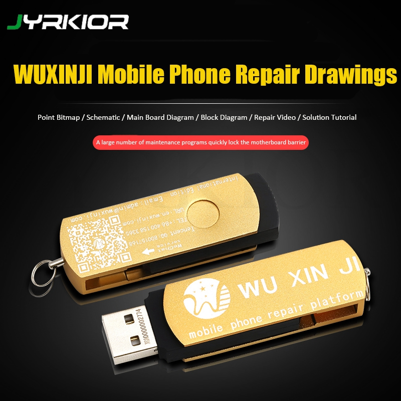 WUXINJI Repairing Drawings Circuit Schematic Diagram With Software For iPhone iPad Samsung XiaoMi Motherboard Schematic Diagram