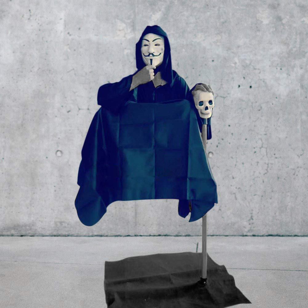 L'homme flottant Illusion tour de magie, lévitation chaise homme rue gros plan magique classique Gimmick Prop drôle mentalisme magique