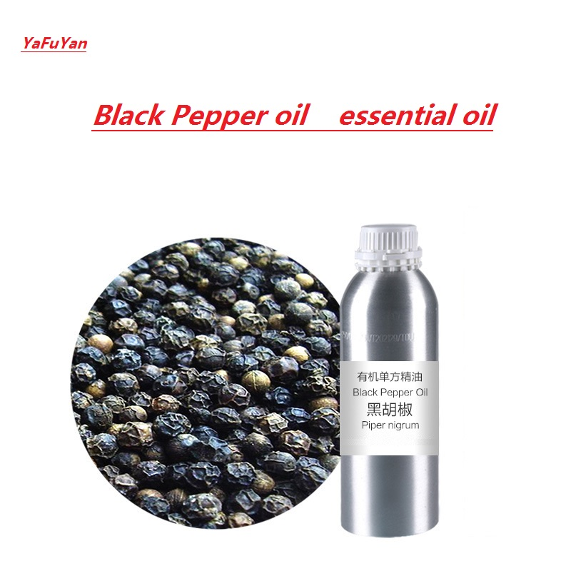 Cosmetics  Black Pepper oil essential oil organic cold pressed cosmetics 50g bottle chinese herb ligusticum chuanxiong extract essential base oil organic cold pressed