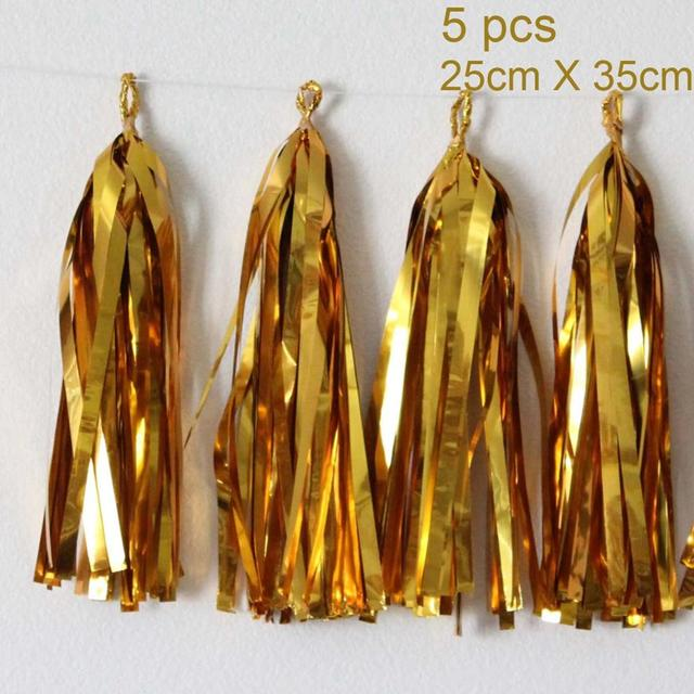 5pc Gold tassel Presents for one year old boy 5c64f7ebefc29