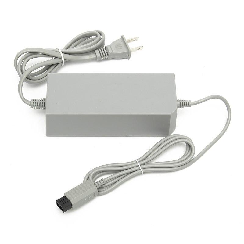 UE/US Plug Remplacement Mur Adaptateur secteur Cordon D'alimentation Câble Pour Nintendo Pour Wii Console AC100-245 V