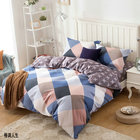 1 Pcs Duvet Cover with Zipper Cotton Quilted duvets Comforter cover double queen king queen full king size 240*220cm