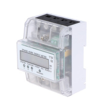 цена на DIN-rail Three Phase Four Wire Energy Meter 380V 60HZ 5(80)A