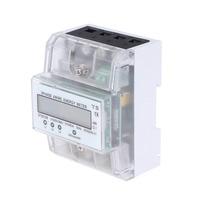 Medidor da Energia DIN-rail Trifásico de Quatro Fios 380 v hz 60 5 (80) UM