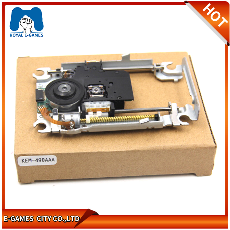 Laser Lens With Deck Mechanism KEM-490AAA KEM 490 AAA KEM 490A Optical Pickups Original Replacement For Sony PS4 Game Console