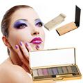 New Beauty 9 Colors Shimmer Eyeshadow Eye Shadow Bright Palette & Makeup Cosmetic Set Women Textured Makeup Eyeshadow