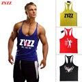 Tank Top Men ZYZZ Fitness Singlets Bodybuilding Stringer Golds Gyms Clothing Muscle Shirt Vest Sportwear Body Engineers
