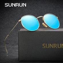 Sol run moda polarizada Gafas de sol estilo redondo mujeres Sol Gafas  revestimiento espejo Gafas de sol Steam punk gafas de sol . 915929ef72ab