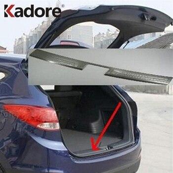 Voor Hyundai ix35 2010 2011 Roestvrij Staal Binnenste Kofferbak Sill Auto Bumper Beschermer Scuff Plaat Interieur Accessoires
