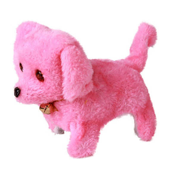 New-Electronic-Dog-Toy-Battery-Powered-Steel-Blue-Plush-Walking-Barking-Electronic-Pets-Dog-Toys-Brown-Yellow-Pink-4