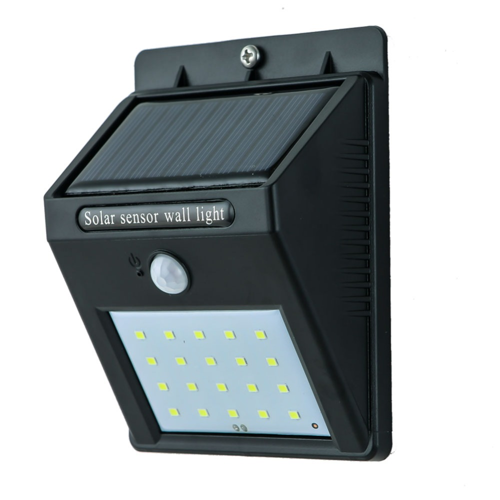 Brightest Solar Motion Sensor Led Wall Light and Wireless Waterproof PIR Led Wall Lamp ...
