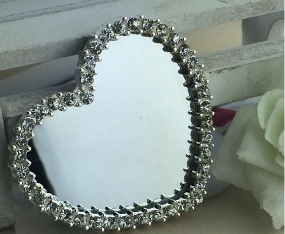 다이아몬드 합금 버튼 거울의 심장 금속 라인 석 버튼 휴대 전화 액세서리 웨딩 diy 액세서리 도매-에서단추부터 홈 & 가든 의  그룹 1