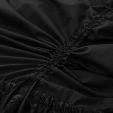 Women Retro clothes Gothic skirt vintage Victorian Steampunk floral Lace Patchwork Ruching Skirt faldas largas elegantes