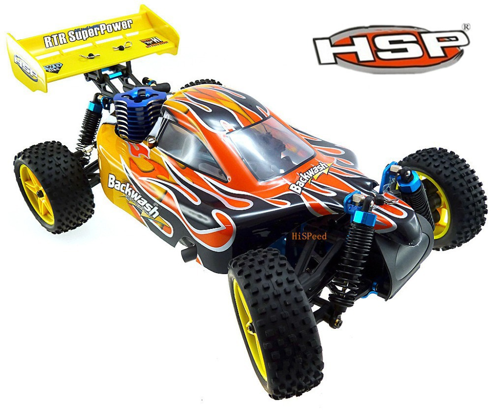 HSP 94166 Rc Car 1/10 Scale Professional Nitro Power Advanced 4wd Off Road Buggy Backwach Nitro Gas automodelismo nitro rc P2 1 pair 02168 hsp rc 1 10 model 4wd on road car off road truck wheel axle 94122 94166