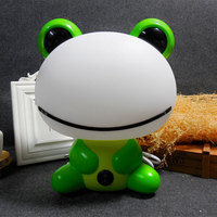 Cartoon Frog Cute LED Night Light Lovely Design Attractive Kids Bed Sleeping Lamp With Bulb Baby Feeding Gift Table Night Light