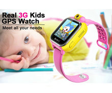 "GPS Children Smart Watch for Kids with 2.0 Camera 1.54"" Touch Screen Support Sim Card 2017 ZIMINGU"