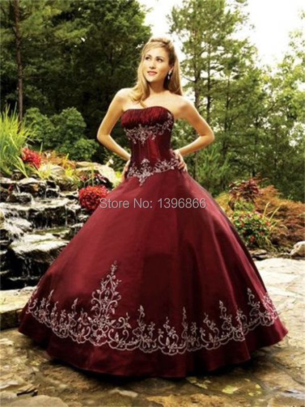 Free Shipping Burgundy Quinceanera Dresses 2015 Delicate