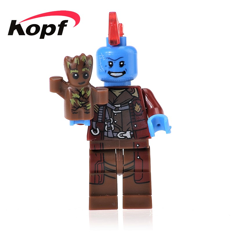 Single Sale Yondu Nebula Gamora Rocket Racoon Guardians of the Galaxy Bricks Action Building Blocks Children Gift Toys PG161