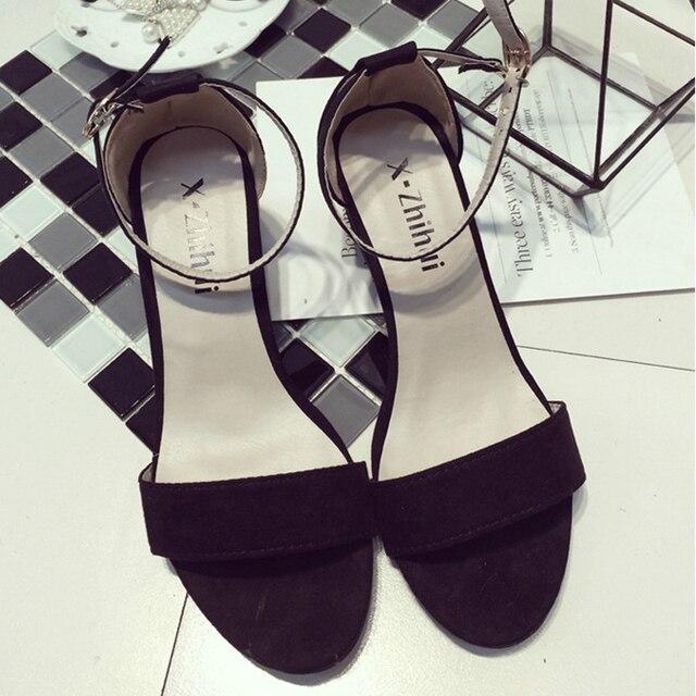 Gamiss Summer Women Sandals Open Toe Flip Flops Women's Sandles Thick Heel  Korean Style Gladiator Shoes Platform Wedge Shoes