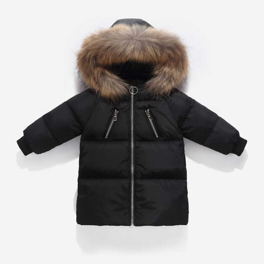 Kids Coat 2019 Winter Boys Jacket for Boys Children Clothing Hoodie Outerwear Girls Coat baby Boy Clothes Winter down Jackets