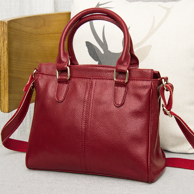 Bag female Women's genuine leather bags luxury handbags crossbody bags for women shoulder bags designer bolsa feminina Tote 2018