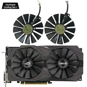 Image 2 - 95MM T129215SM 4Pin 12V Graphics Card Fan for ASUS STRIX GTX 1050 1050Ti 1070Ti 1080Ti RX 470 570 580 RX470 RX570 RX580 Cooler