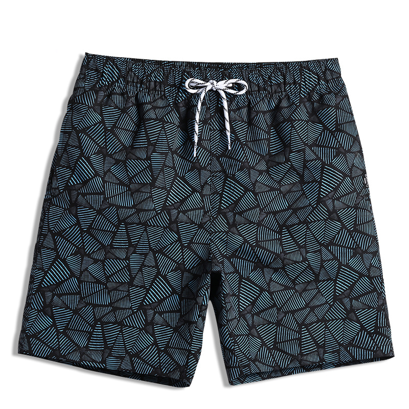 QIKERBONG Men Beach Shorts Boxer Trunks Board Shorts Casual Bermuda Men's Swimwear Swimsuits 2018 New Fashion Quick Drying