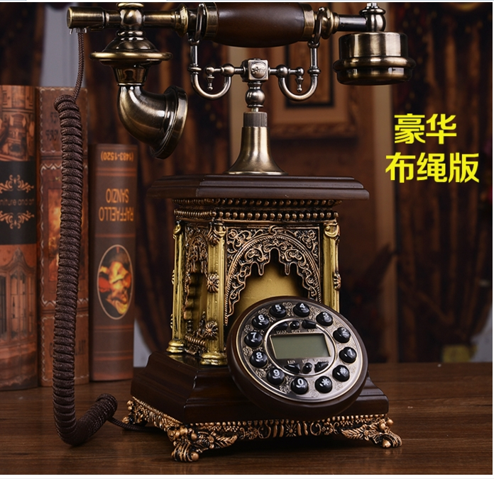 Fashion antique telephone vintage telephone caller id Hands free backlit