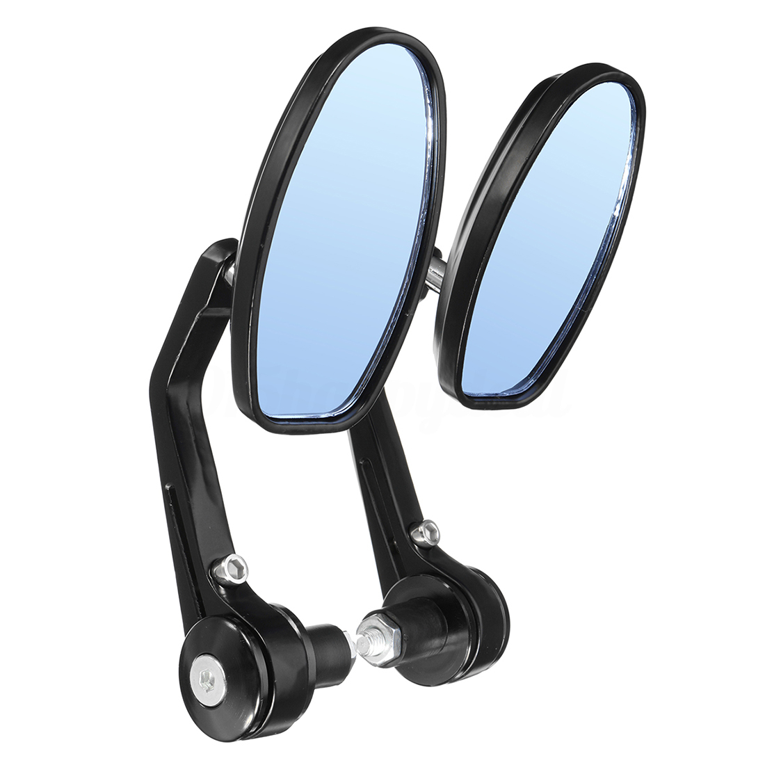 Good deal-1 pair universal motorcycle 22mm 7/8 inch bar end rearview mirrors motorbike bikes,bicycle accessories