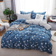 hot deal buy 2019 new bedding set luxury animal fox 3/4pcs family set include bed sheet duvet cover pillowcase boy room decoration bedspread