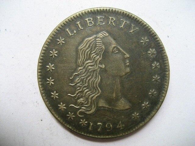 1794 Draped Bust Dollar copy koin