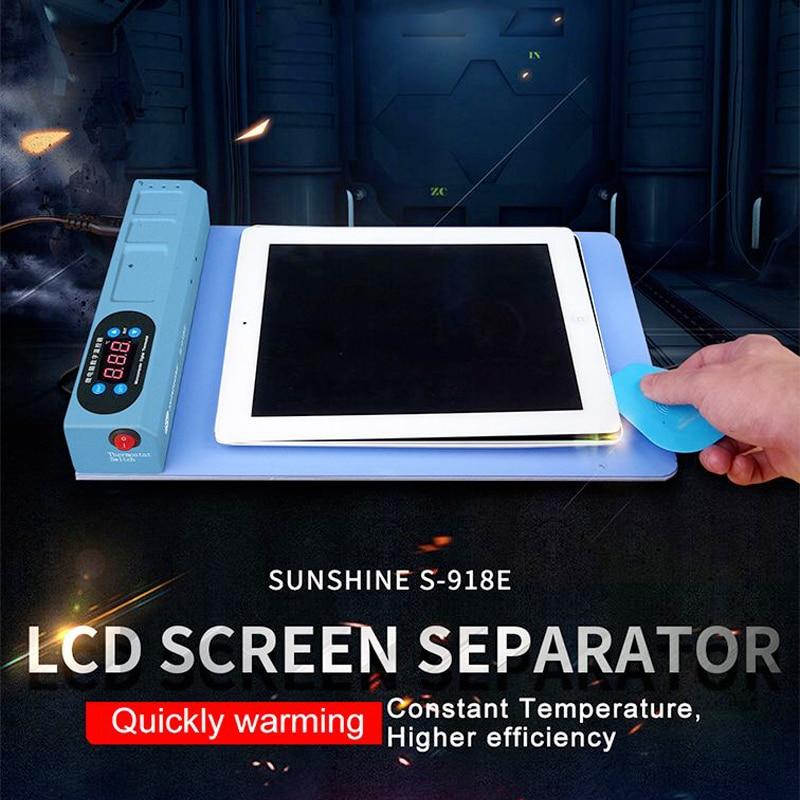 サンシャイン S 918E 液晶ブルースクリーンスプリッタ加熱ステージセパレーター Iphone Ipad の液晶画面セパレーターツール  グループ上の ツール からの 電動工具アクセサリー の中 1