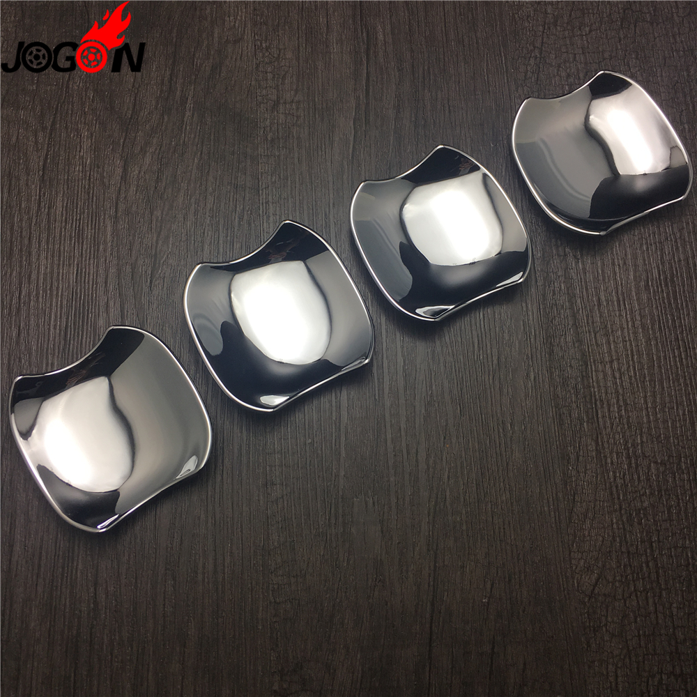 For Toyota Camry XV70 2018 Car Styling Exterior Door Handle Bowl Cover Trim Sticker Accessories Bright Silver ABS Chrome