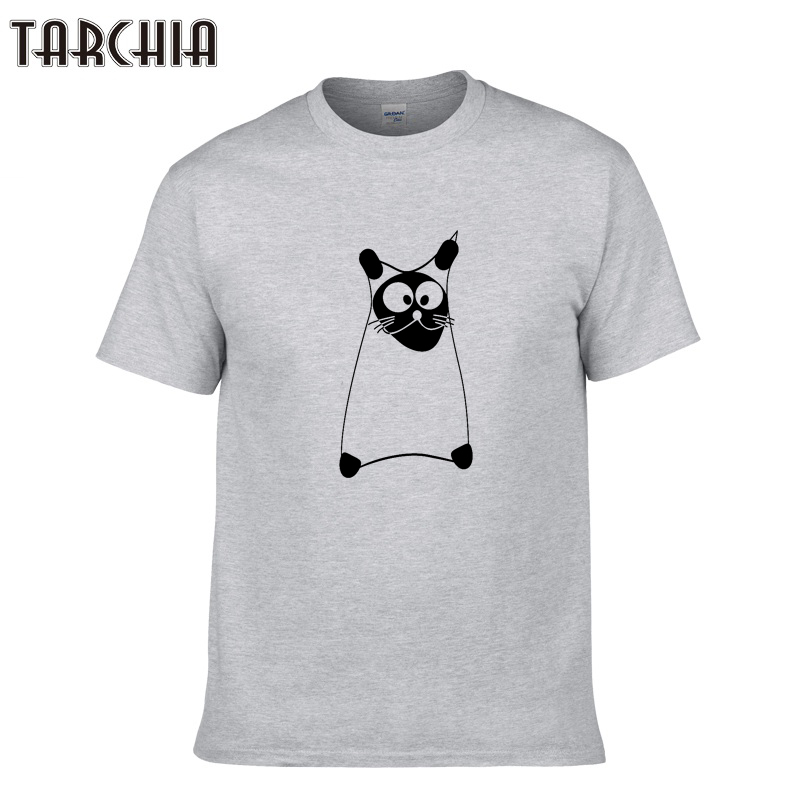 TARCHIA Men T Shirts 2018 New Summer Skateboard Tshirt Print Hip Hop T Shirt Men's Tees Tops Plus Size Men Clothing Homme