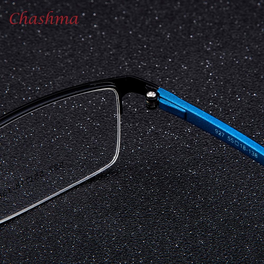 Syzet e markës Chashma Gentlemen Syzet e Meshës Blu Gjysma Rimmed - Aksesorë veshjesh - Foto 6