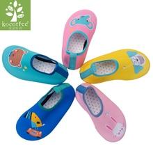 Kocotree ילדים ייבוש מהיר לשחות נעלי מים מקרית הנעלה ללא החלקה אקווה גרביים עבור חוף בריכה קריקטורה ילדים נעלי בית