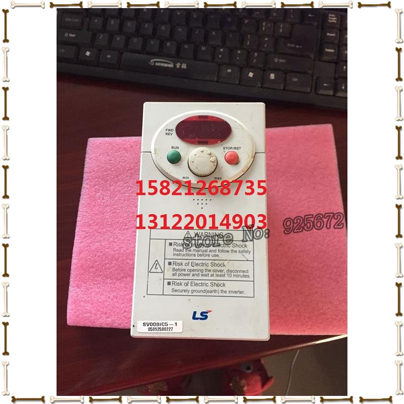 все цены на South Korea/LS a 0.75 KW inverter SV008IC5-1 220 v has been test package is good! онлайн