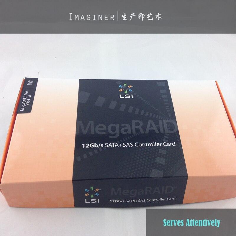 Avago megaraid sas 9361-8i sgl 8 port pci-e controller ln66732.