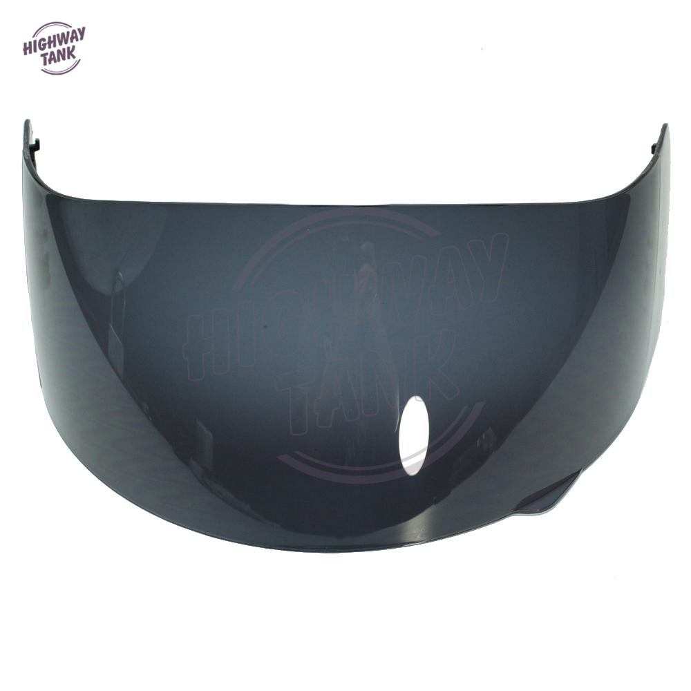 Dark Smoke Full Face Helmet Visor Shield Case for AGV GP Pro S4 Airtech Stealth Q3